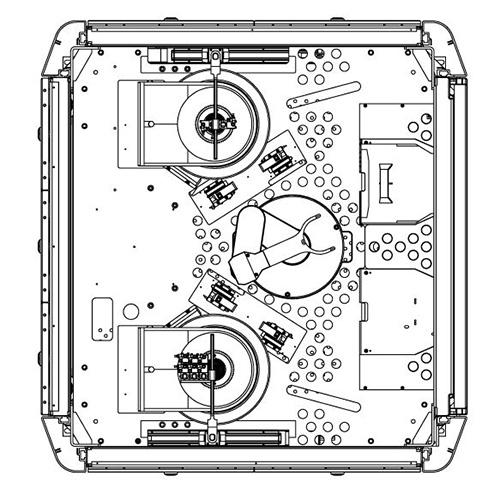 Diverse Prozesse Reiniger amcoss Single Wafer Reinigerprozess