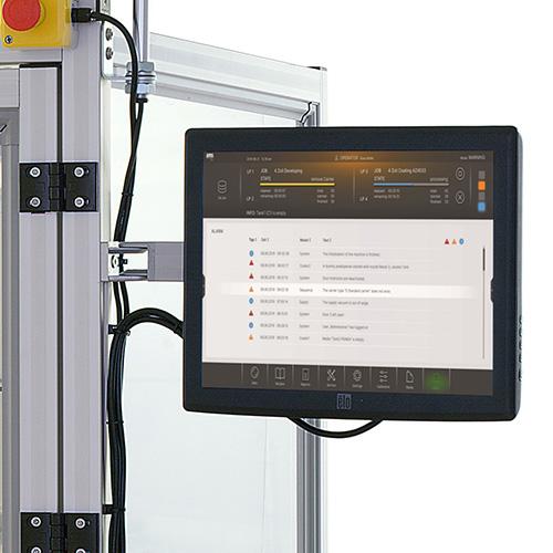Touchscreen amc amv 200 Prozessanlage