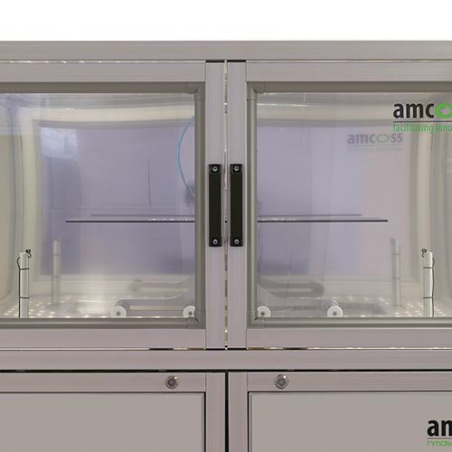 kontrollierte Absaugung amcoss amv 200 HMDS Prozessanlage_1