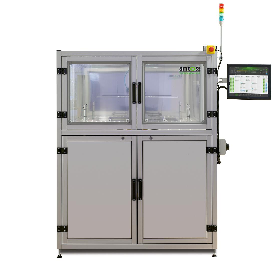 amcoss amv 200 HMDS Batch-Prozessanlage frontal