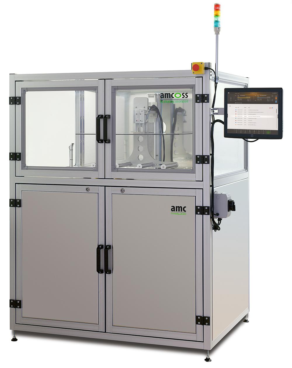 amcoss amv 200 HMDS Batch-Prozessanlage