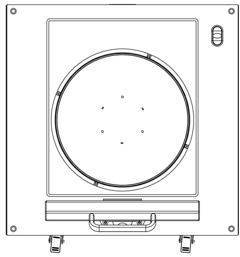 amr Temperatur-Einheit Medien-Einheit footprint