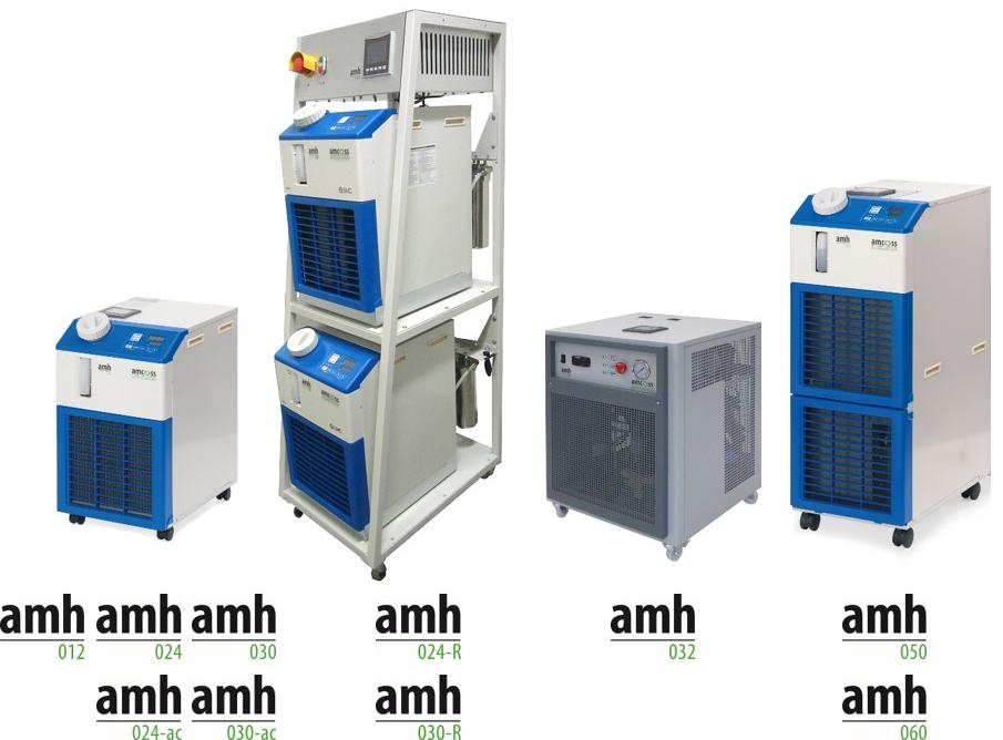 Übersicht-amcoss-amh-Chiller-Temperiergeräte