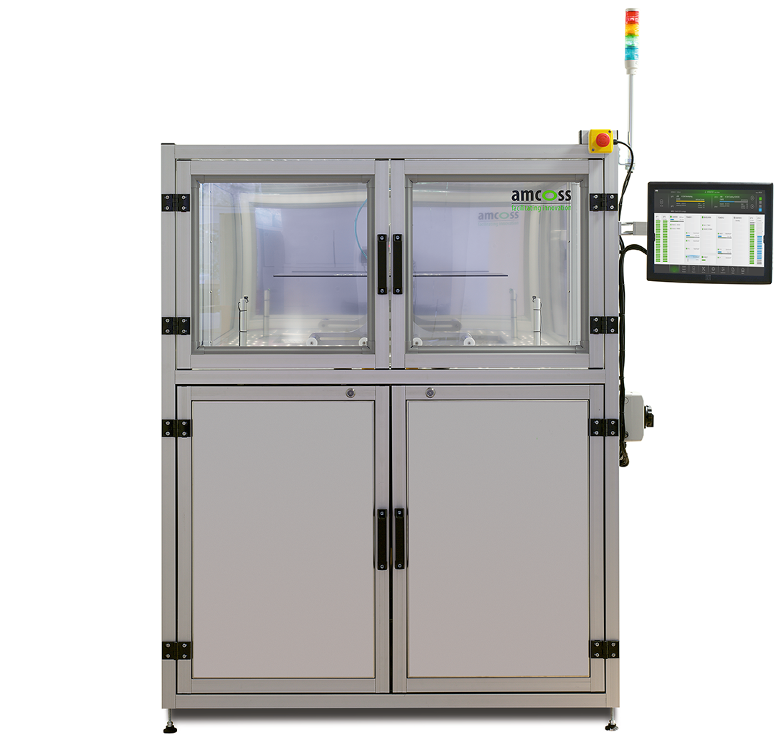 amcoss amv 200 Automatic HMDS batch wafer processing front