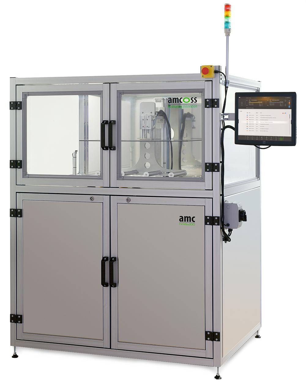 amcoss amv200 batch-wafer processing equipment