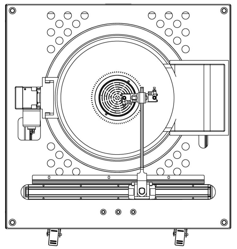 amr Coater-Lift-off unit footprint