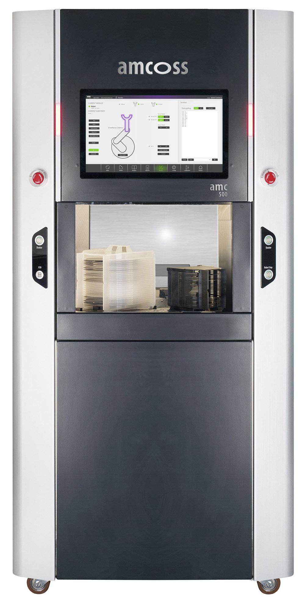 amcoss amc 500 single wafer wet processor